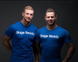 Stage Ready T-Shirt Blue Front